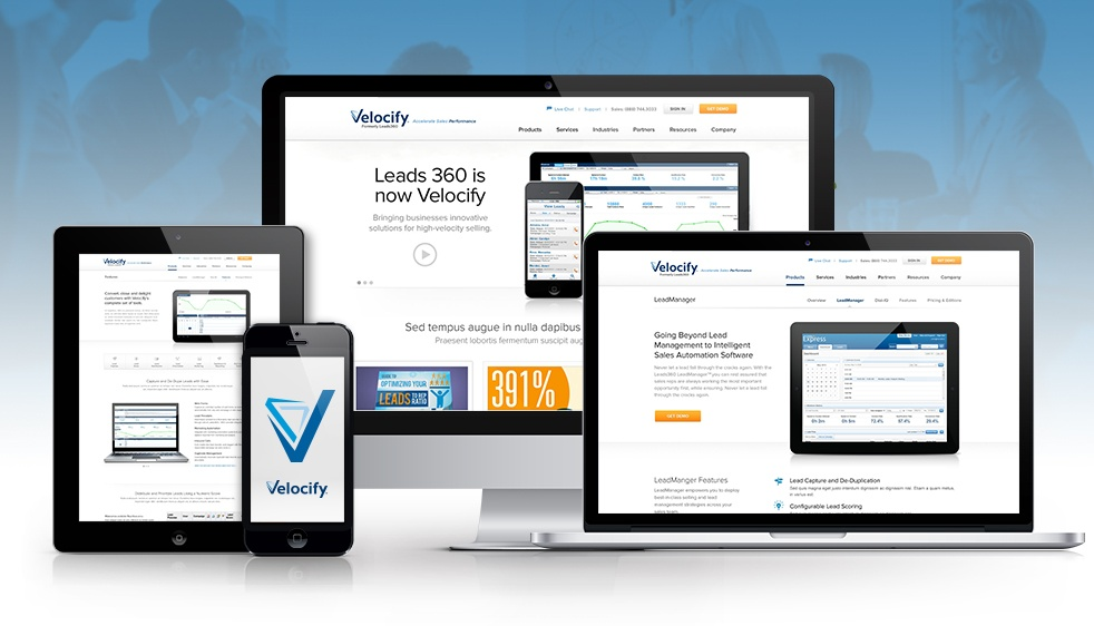 Orange County Web Design Firm Rebrands Leads360 Website